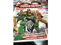 Judge Dredd The Magazine No. 5 and No 3 Aug + Sep 1995