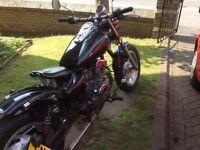 Jinlun 125cc twin motorcycle