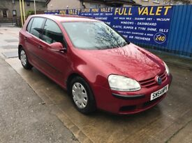 Volkswagen Golf Diesel Good Mpg- March 2018 Mot!! Great diesel car must be seen