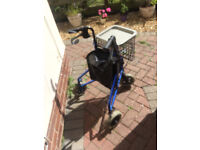 Three Wheeler disabled shopping trolley