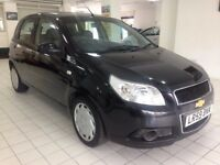 2009 59 Chevrolet Aveo 1.2 Low mileage 5 doors