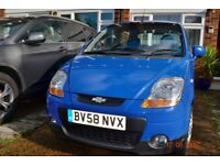 Chevrolet Matiz 0.8 SE 5dr very low mileage!
