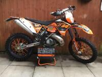 ktm 250 exc 2 stroke road legal must see not 125 250 450