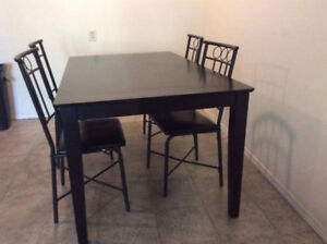 table&chairs,mattress&box spring,bed frame,printer,micro