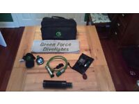 Dive Torch - Green Force Flex II Kit
