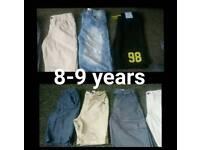 Boys 8-9 shorts