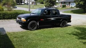 2003 ZR5 Crew Cab Short Box 4x4 s10 For Sale