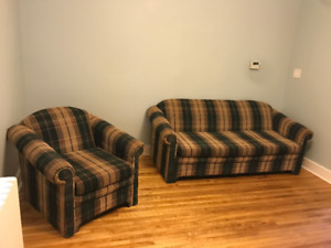 Couch and Chair set in great shape @ a low price
