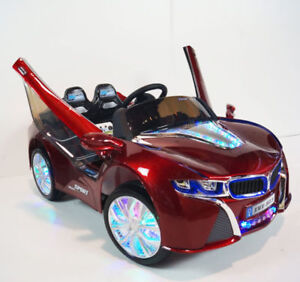 Kids Ride On Car BMW I8 Vision Style Limited with RC&LED 12V