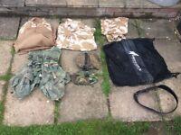 Army surplus desert camouflage reenactment LARPING airsoft