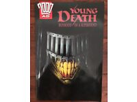 2000AD Young Death: Boyhood of a Superfiend (Graphic Novel)