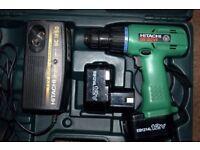 Hitachi drill DS10DVF