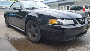 2001 ford mustang 3.8l convertible