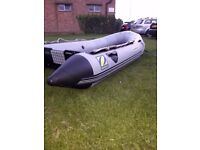 Zodiac Mark 1 Classic Inflatable Boat / Dinghy 3.5M