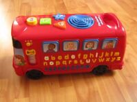 VTech Playtime Bus with Phonics - Located in Thatcham - RG19 4AD