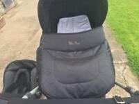 Silver Cross Pram and Car Seat