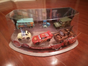 Disney Cars 3 6 piece figurine set or cake toppers