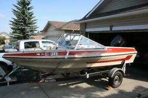 1987 Glascon 158 Sabre Ski & Fish Open Bow Boat