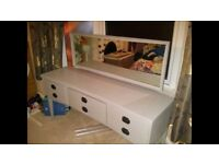 Dressing table & mirror - solid wood