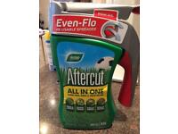 Aftercut all in one. Grass seeds. Weed killer. Brand new.