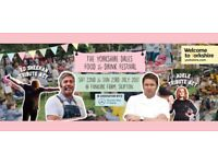 Yorkshire Food & Drink Festival Tickets - Saturday 22nd & Sunday 23rd July
