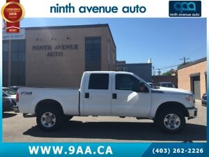 2013 Ford F-350 XLT 4x4 SD Crew Cab FX4 6.75 ft. box 4x4