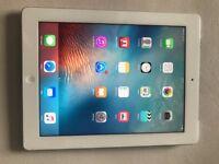 Apple iPad 3 Retina WiFi + Cellular, 32GB, UNLOCKED, White, Mint Condition
