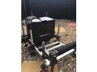 Grande Slam fishing box and seat