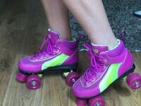 Roller skates size 5 like new