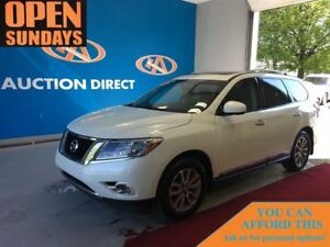 2015 Nissan Pathfinder SL NAVI! 2 SUNROOFS! LEATHER! 4X4!