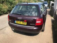 2003 Audi A6 2.5dti automatic 164600 mil