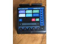 TC Helicon Voicelive Touch vocalist effects, harmoniser and looper