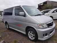 MAZDA BONGO CAMPERVAN WITH FULL SIDE CONVERSION AND ROCK & ROLL BED