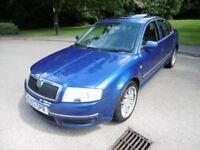 Skoda Superb ELEGANCE V6 (electric blue met) 2003