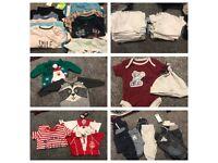 3-6 month boys bundle of clothes