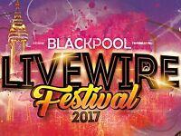 2 x LIVEWIRE FESTIVAL - WILL SMITH & DJ Jazzy Jeff - Headland Blackpool - Sunday 27 August 2017