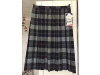 Moulsham High School Uniform Plaid Skirt BNWT