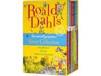 Ronald Dahl Srumdiddlyumptious story book collection