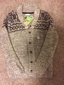 New With Tags Boy's Cardigan Sweater