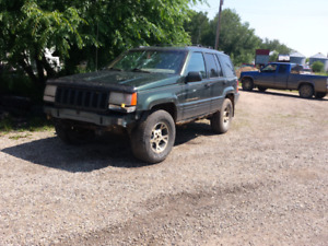 1996 Jeep Cherokee Orvis Edition AWD Runs Drives Great Need Gone