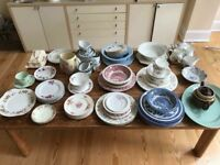 Vintage Crockery and Glassware