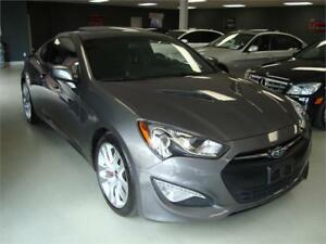 2013 Hyundai Genesis Coupe Premium. 6 Speed. Navigation.