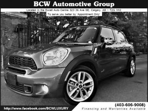 2012 MINI Cooper Countryman S AWD Certified Low Km $20,995.00