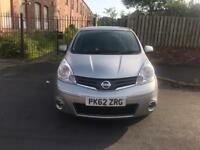 Nissan note 1.6 petrol automatic 2012