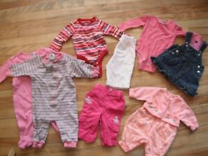3-6 months bundle for baby girl