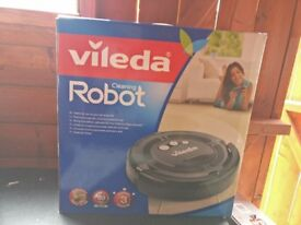 VILEDA 147271 Cleaning Robot Vacuum Cleaner - Grey