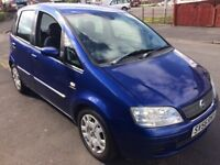 2006 FIAT IDEA CHEAP CAR TO RUN £395 PX WELCOME