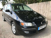 2003 03 Mitsubishi Space Star 1.9DI-D Equippe 61.4 mpg 101 bhp may p/x