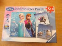 Ravensburger Disney Frozen 3 x 49 Piece Jigsaw Puzzles