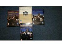 Downton Abbey series 1-3 DVD boxset